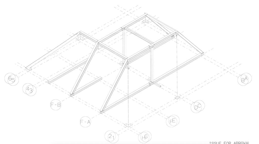 Roof Steelwork